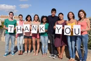 日報に「今日のありがとう」を書いてチームを笑顔にしよう
