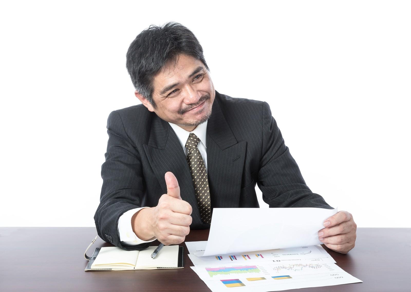 新入社員の尊敬を集める上司の画像
