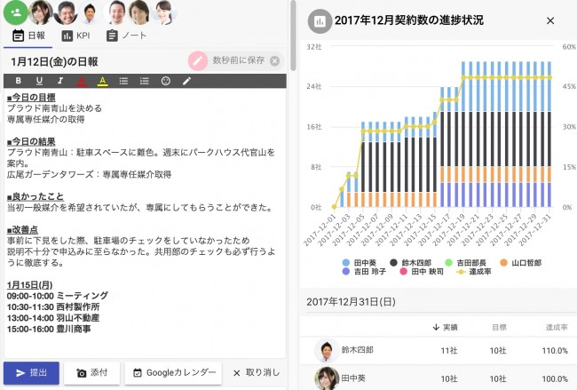 日報アプリの画像